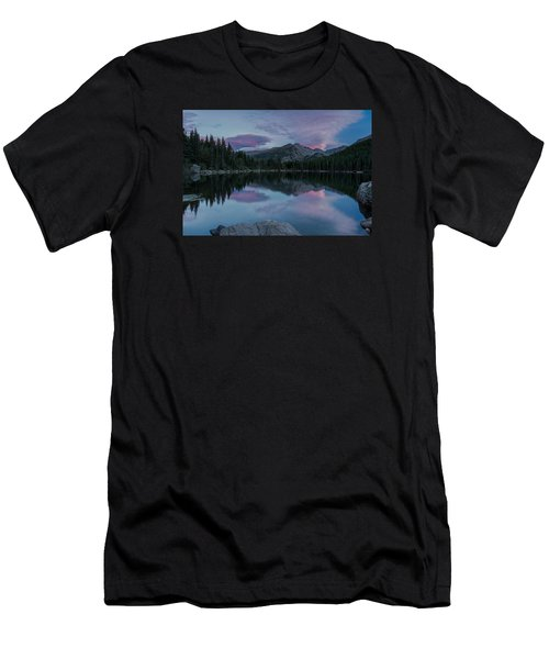 Bear Lake Sunset Men's T-Shirt (Athletic Fit)