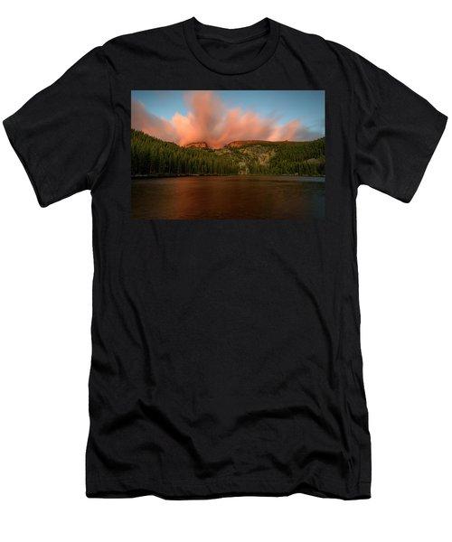 Bear Lake's Hallett Peak #1 Men's T-Shirt (Athletic Fit)