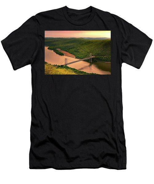 Bear Mountain Bridge Men's T-Shirt (Athletic Fit)