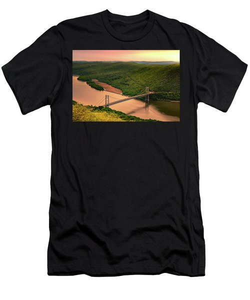 Bear Mountain Bridge Men's T-Shirt (Athletic Fit)