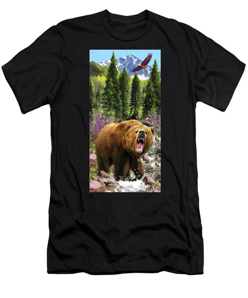 Bear Necessities Iv Men's T-Shirt (Athletic Fit)