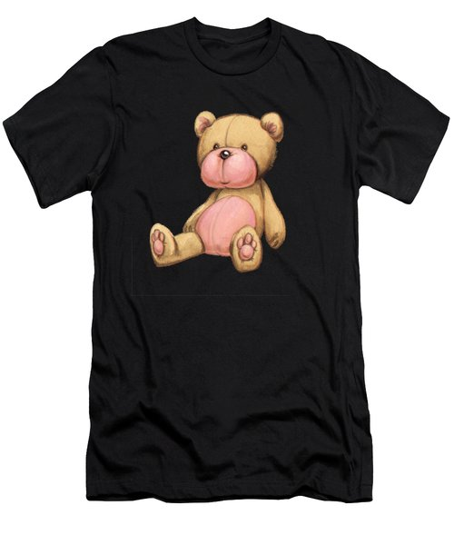 Bear Pink Men's T-Shirt (Athletic Fit)