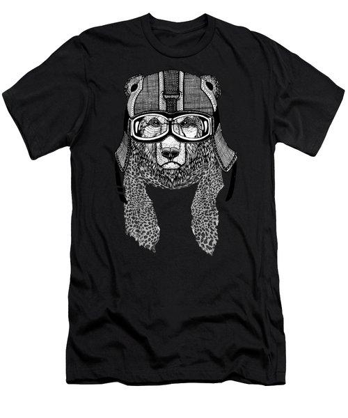 Bear Rider Men's T-Shirt (Athletic Fit)