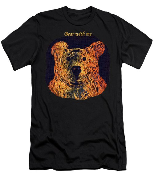 Bear With Me Men's T-Shirt (Athletic Fit)