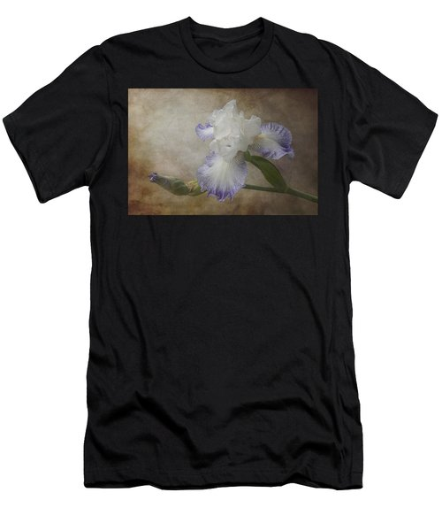 Men's T-Shirt (Athletic Fit) featuring the photograph Bearded Iris 'gnuz Spread' by Patti Deters