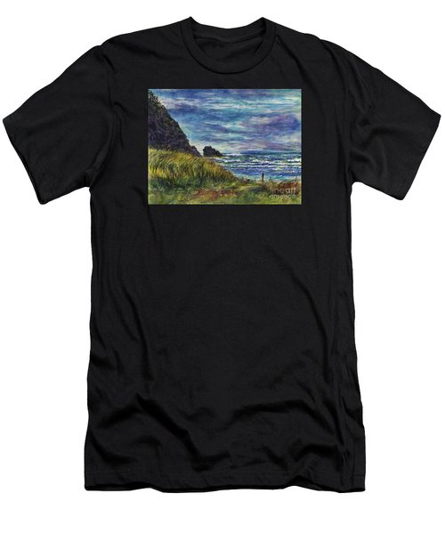 Beards Hollow Connection Men's T-Shirt (Athletic Fit)