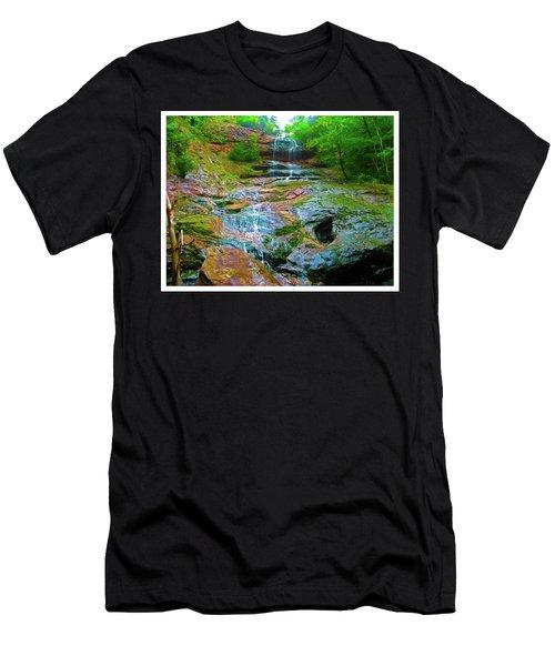 Beaulah Band Falls Men's T-Shirt (Athletic Fit)