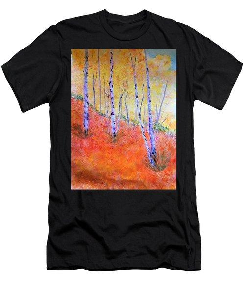 Beautiful Birches Men's T-Shirt (Athletic Fit)