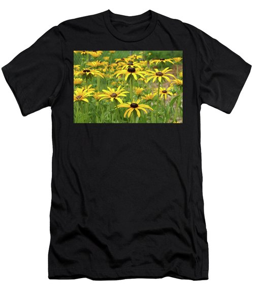 Beautiful Black Eyes Men's T-Shirt (Athletic Fit)