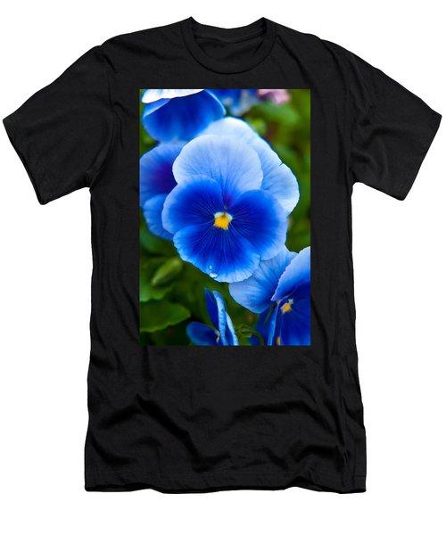 Beautiful Blues Men's T-Shirt (Athletic Fit)