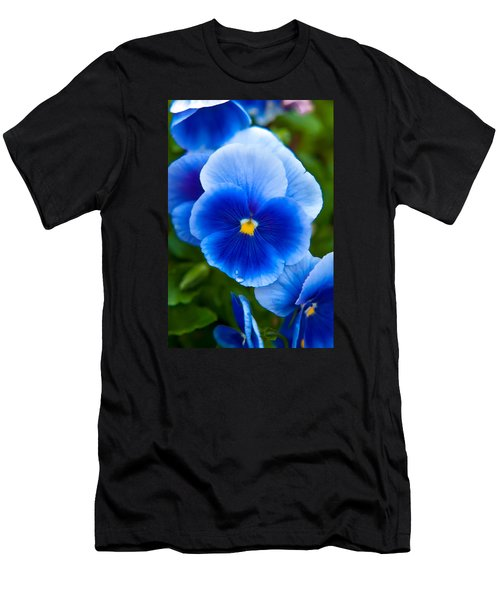 Beautiful Blues Men's T-Shirt (Athletic Fit)