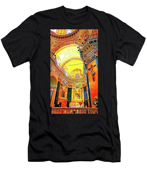 Beautiful Church In Nizza Men's T-Shirt (Athletic Fit)