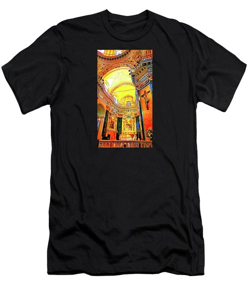 Beautiful Church In Nizza Men's T-Shirt (Athletic Fit)