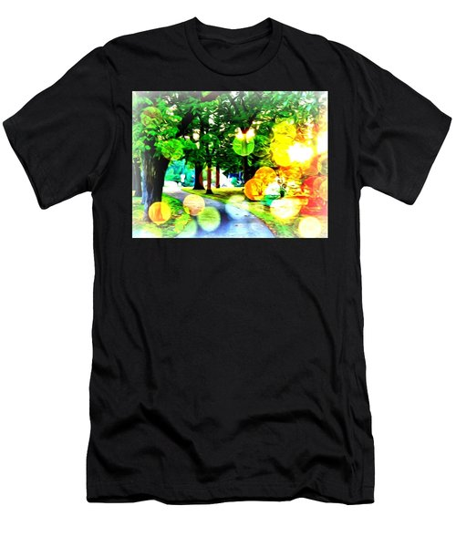 Beautiful Day For A Walk Men's T-Shirt (Athletic Fit)