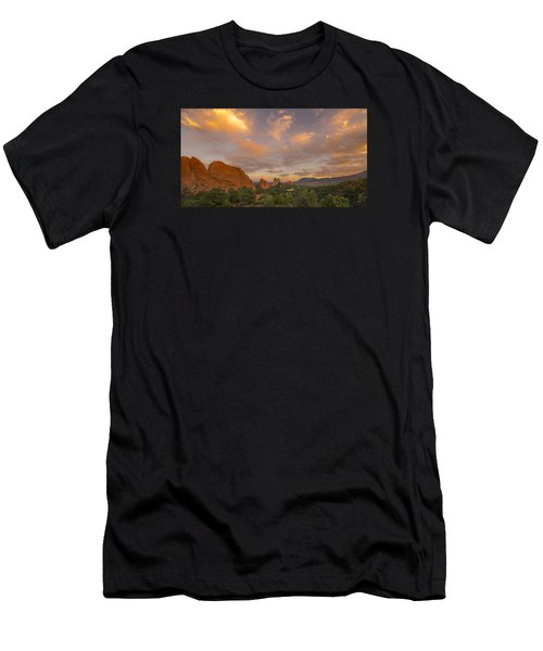 Beautiful Earth And Sky Men's T-Shirt (Athletic Fit)