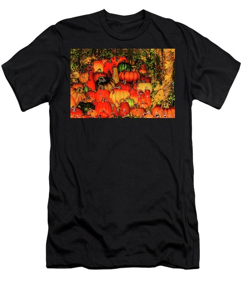 Beautiful Glass Pumpkins Men's T-Shirt (Athletic Fit)