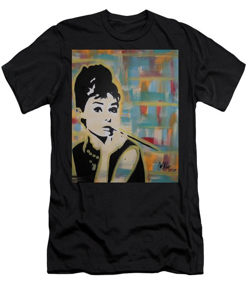 Beautiful Hepburn Men's T-Shirt (Athletic Fit)