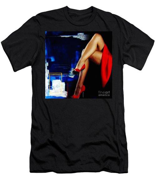 Beautiful Legs 02  Men's T-Shirt (Athletic Fit)