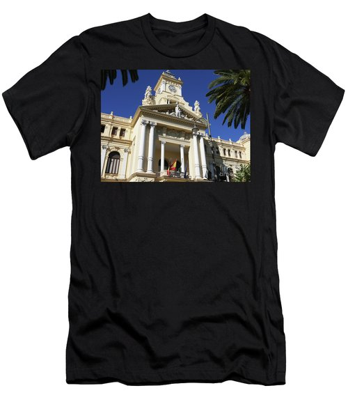 Beautiful Malaga City Hall Men's T-Shirt (Athletic Fit)