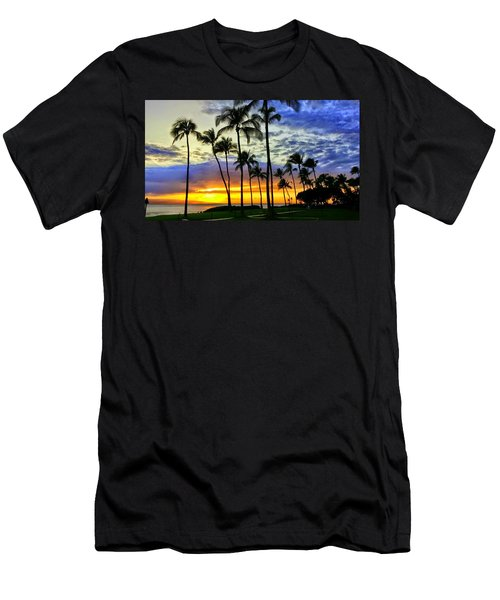 Beautiful Maui Hawaii Sunset Men's T-Shirt (Athletic Fit)
