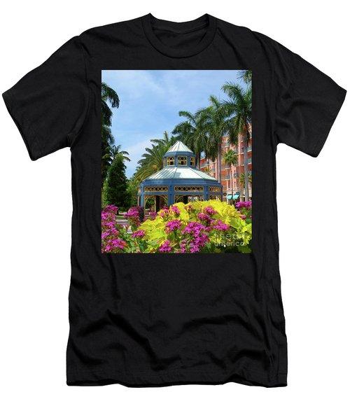 Beautiful Mizner Park In Boca Raton, Florida. #3 Men's T-Shirt (Athletic Fit)