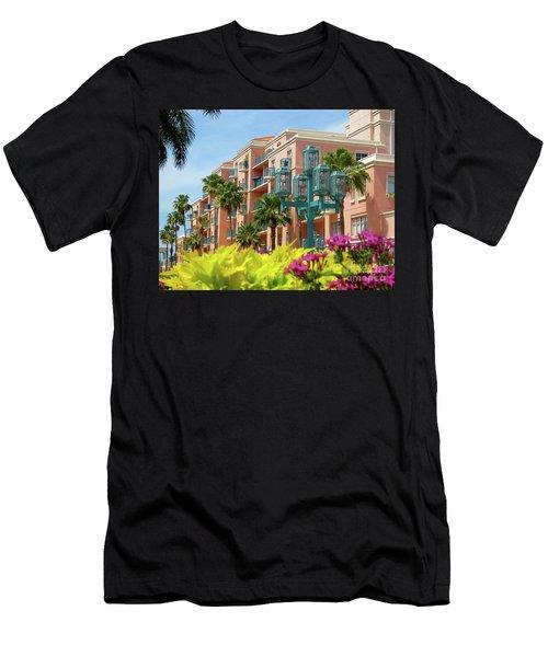 Beautiful Mizner Park In Boca Raton, Florida. #9 Men's T-Shirt (Athletic Fit)