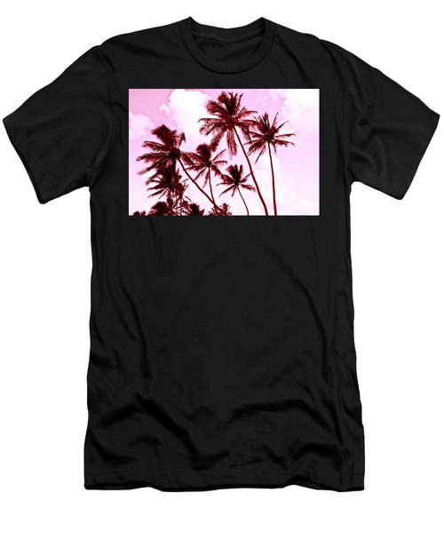Beautiful Palms Of Maui 13 Men's T-Shirt (Athletic Fit)