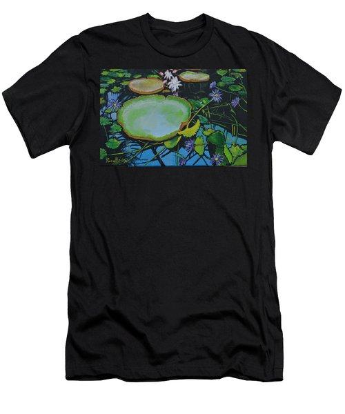 Beautiful  Pond  Men's T-Shirt (Athletic Fit)