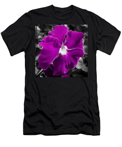 Beautiful Purple Men's T-Shirt (Athletic Fit)