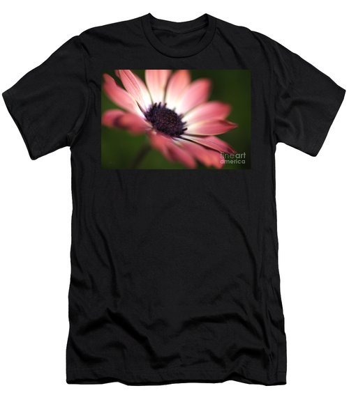 Beautiful Rich African Daisy Zion Red Flower Men's T-Shirt (Athletic Fit)