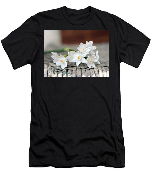 Beautiful Spring Paperwhites Men's T-Shirt (Athletic Fit)