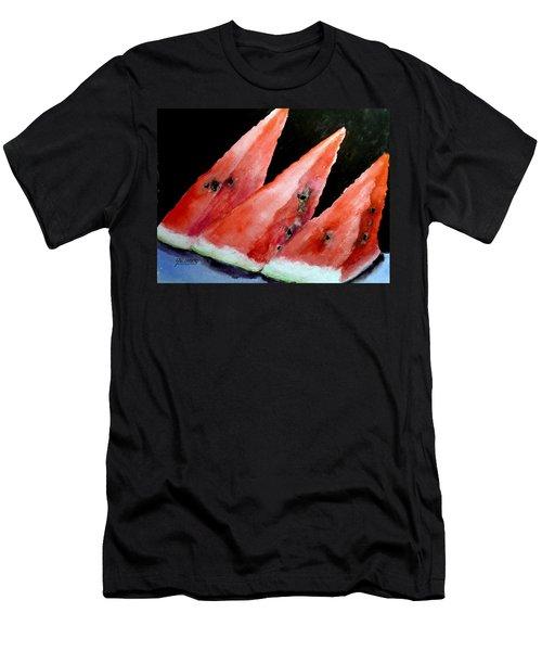 Beautiful Summer Watermelon  Men's T-Shirt (Athletic Fit)