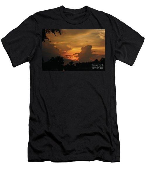 Beautiful Sunset Men's T-Shirt (Athletic Fit)