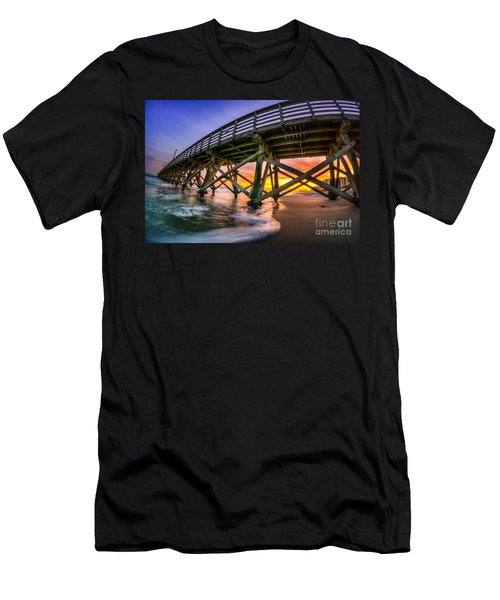 Beautiful Sunset In Myrtle Beach Men's T-Shirt (Athletic Fit)