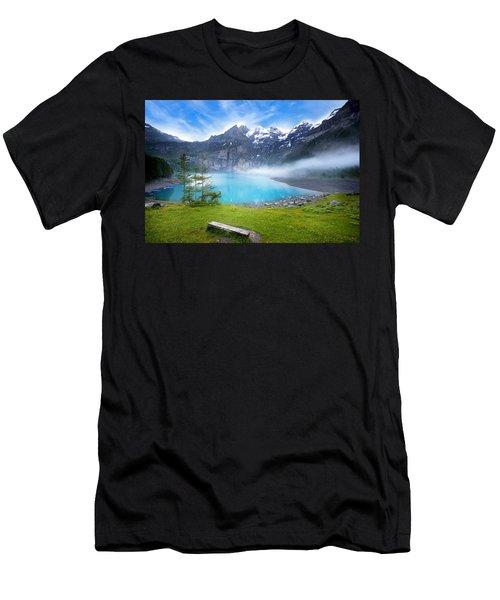 Beautiful Switzerland Men's T-Shirt (Athletic Fit)