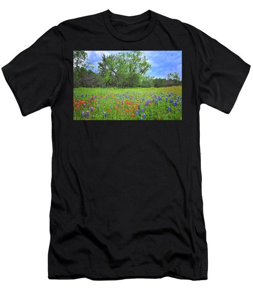 Beautiful Texas Spring Men's T-Shirt (Athletic Fit)