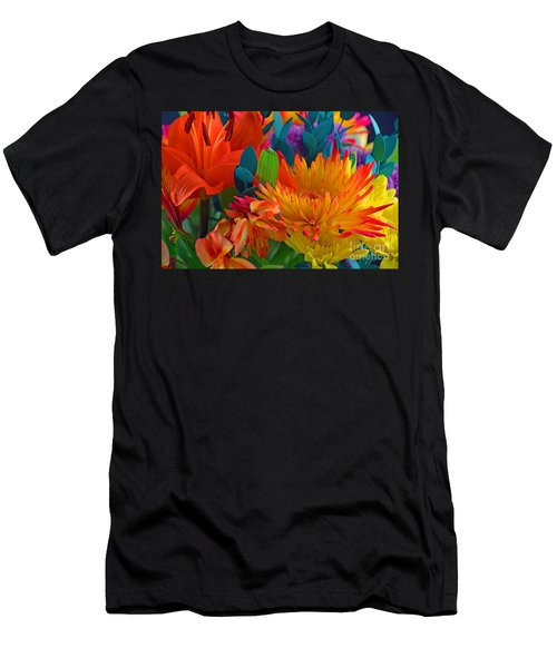 Beautiful To The Eyes  Men's T-Shirt (Slim Fit) by Ray Shrewsberry