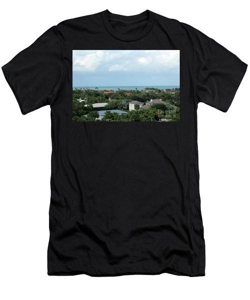 Beautiful Vero Beach Florida Men's T-Shirt (Slim Fit) by Megan Dirsa-DuBois