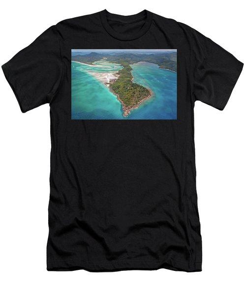 Beautiful Whitsundays Men's T-Shirt (Athletic Fit)