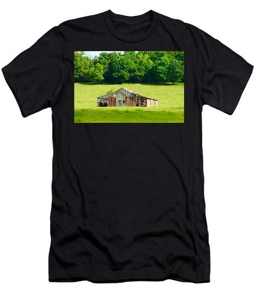 Beautifully Noble Barn Men's T-Shirt (Slim Fit)