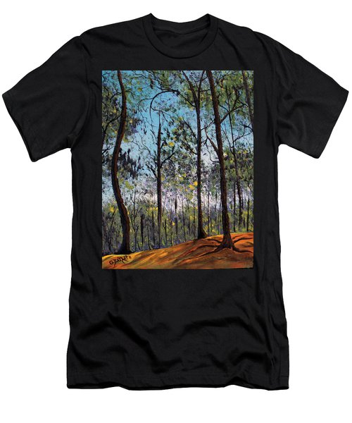 Beauty Around Us 1 Men's T-Shirt (Athletic Fit)