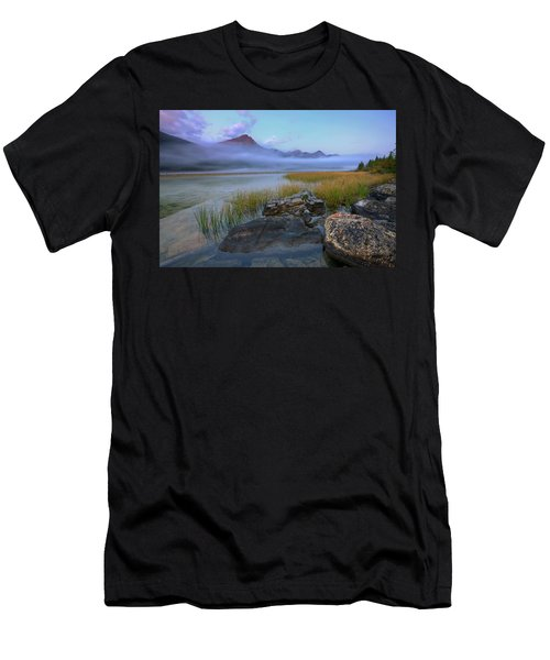 Beauty Creek Dawn Men's T-Shirt (Athletic Fit)