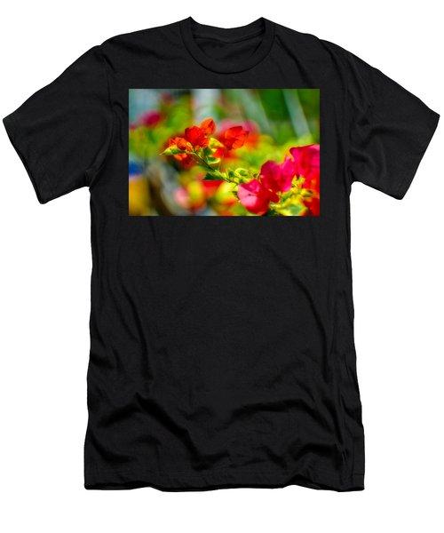 Beauty In A Blur Men's T-Shirt (Athletic Fit)
