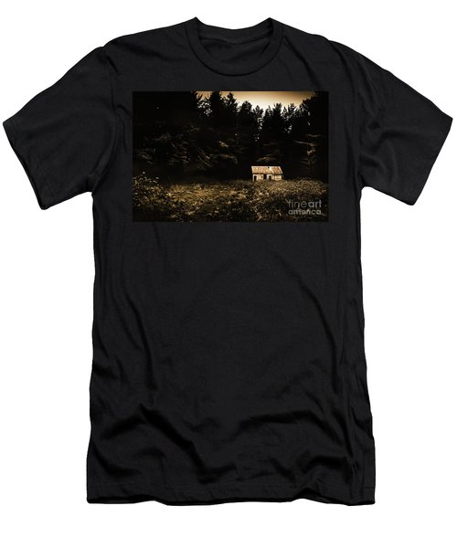 Beauty In Dilapidation Men's T-Shirt (Athletic Fit)