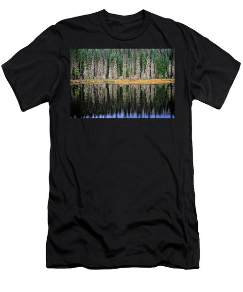 Beauty In Idaho Bog Men's T-Shirt (Athletic Fit)