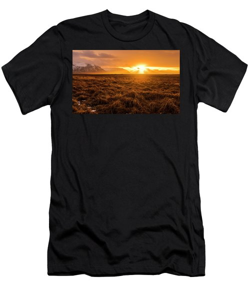 Men's T-Shirt (Athletic Fit) featuring the photograph Beauty In Nature by Pradeep Raja Prints
