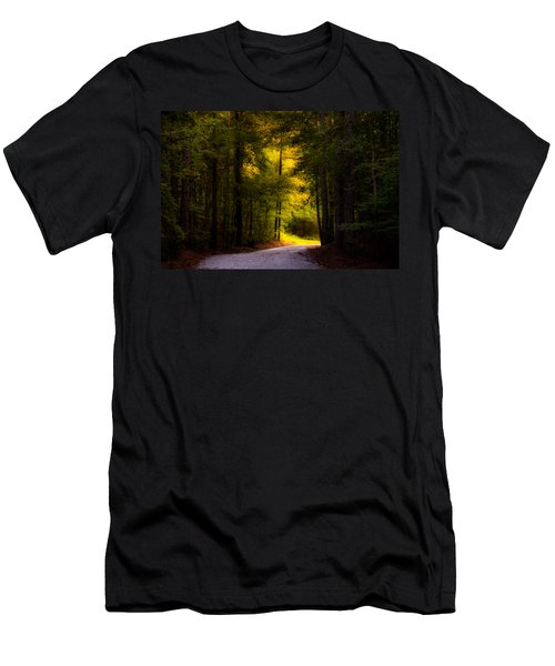 Beauty In The Forest Men's T-Shirt (Athletic Fit)