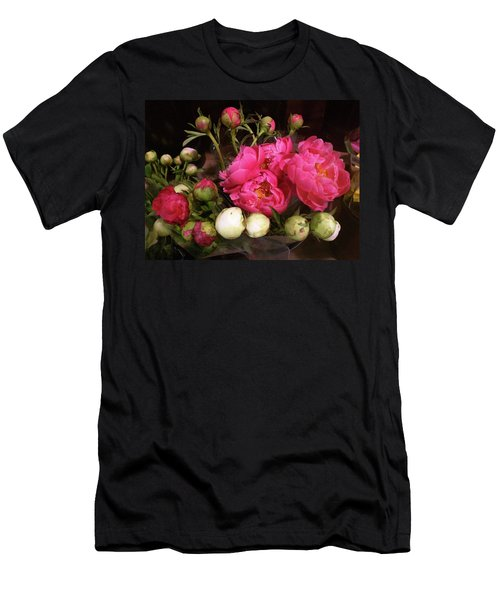 Beauty In The Whole Foods Flower Dept. Men's T-Shirt (Athletic Fit)