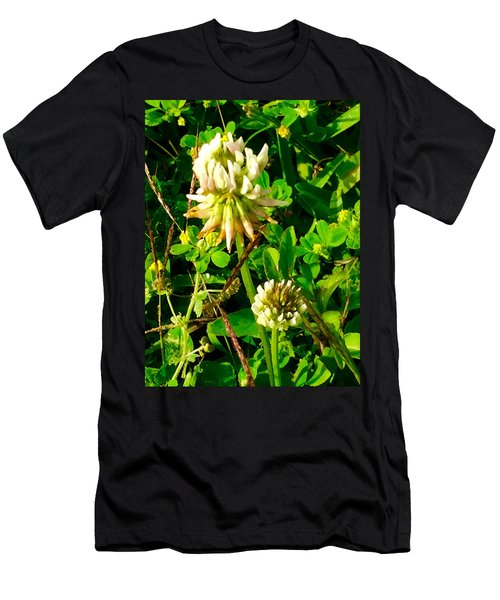 Beauty In Weeds Men's T-Shirt (Athletic Fit)