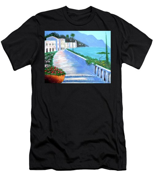 Beauty Of The Riviera Men's T-Shirt (Athletic Fit)